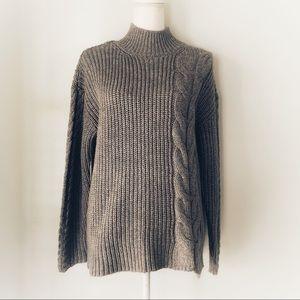 Calvin Klein Gray Knit Sweater NWOT